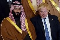 Suudi Prens Selman, Boris Johnson'ı hedef aldı