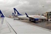 AnadoluJet'in yurt dışı uçuşları 1 dolar