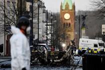 Kuzey İrlanda, Brexit günü patlamanın kıyısından dönmüş