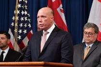 Avustralya İçişleri Bakanı Dutton'da Kovid-19 tespit edildi