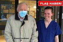 İngiltere'de 87 yaşındaki Ewart Lockton, Koronovirüsü Yendi