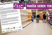 İngiltere Perakendecileri Uyardı: Yeterli Ürün Var