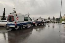 İstanbul'da koronavirüs vakasına giden ambulansa saldırı
