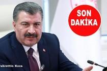 Türkiye'de ilk koronavirüs tesbit edildi