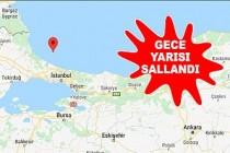 İstanbul'da 4,1 Büyüklüğünde Deprem