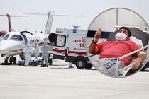 Türk hastanın ambulans uçakla getirilmesi İsveç basınında