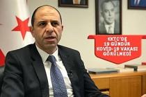 KKTC Dışişleri Bakanı Özersay'dan DSÖ'ye mektup