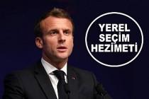 Fransa'da Macron'un Partisinde Yerel Seçimlerde Ağır Yenilgi