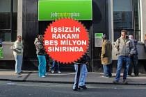 İngiltere'de 612 Bin Daha Kişi İşsiz Kaldı