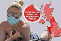 İngiltere'ten Koronavirüs Ölümleri Aynı Hızla Sürüyor