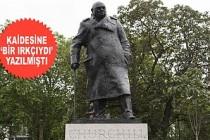 Churchill'in Heykeli Korumaya Alındı