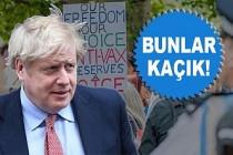 Boris Johnson'dan, Aşı Karşıtlarına: 'Kaçıklar'
