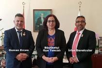 Futbol Federasyonu Yönetiminden Büyükelçi Tuncalı'ya Ziyaret