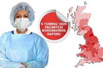İngiltere'de Koronavirüsten Ölenler Açıklandı