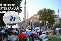 Yunanistan'da Ayasofya Camiinin İbadete Açılmasına Tepki