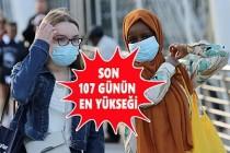 İngiltere'de Koronavirüs Vaka Sayısı Zirve Yaptı