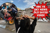 İngiliz Medyası Depremi Böyle Duyurdu