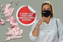 İngiltere'de Günlük Koronavirüs Vakası İlk Defa 17 Bini Geçti