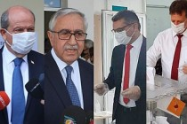 KKTC'de Cumhurbaşkanı Adayları Oylarını Kullandı