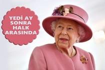 Kraliçe İlk Kez Saray Dışında Maskesiz!
