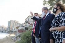 Tatar, Maraş'ın Açılan Kısmını Ziyaret Etti