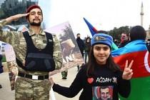 Azerbaycanlılar, Ağdam'ın İşgalden Kurtuluşunu Kutluyor