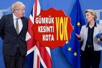 İşte, İngiltere ve AB Ticaret Anlaşmasının Ayrıntıları