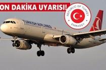 Londra'dan Türkiye'ye Seyahat Edeceklere Önemli Açıklama