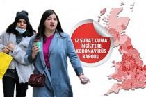 İngiltere'de 5 Ocak'tan Bu Yana Koronavirüs Vakalarında Bir İlk!