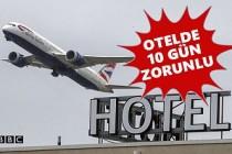 İngiltere'ye Seyahat Edeceklere Otelde Zorunlu Karantina Dönemi