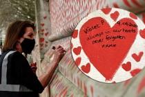 İngiltere'de Koronavirüsten Ölenler O Kalplerde Yaşatılacak
