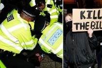 Londra'da 'Sarah Everard Protestosu'nda Polis İki Kişiyi Gözaltına Aldı
