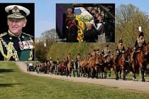 Prens Philip'e Koronavirüs Önlemli Cenaze Töreni
