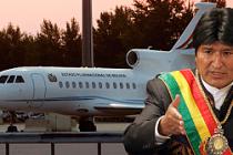 Devlet başkanının uçağı zorla indirildi!