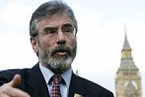 Gerry Adams Kuzey İrlanda için 'Referandum' istedi