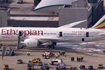 Heathrow korkutan uçak yangını