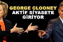 George Clooney, Hillary Clinton'a rakip