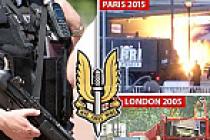 İngiltere sokaklarını SAS komandoları koruyor