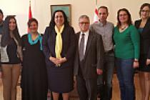 KKTC'de Londra'yı temsil edecek gruptan Tuncalı'ya ziyaret
