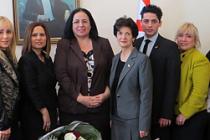 Konsey yönetiminden Tuncalı'ya ziyaret