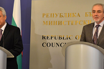 Lütvi Mestan, Başbakan Raykov ile görüştü