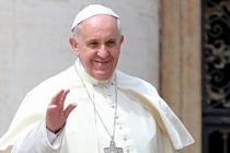 Papa, uzaylıları vaftiz etmeye hazırlanıyor!