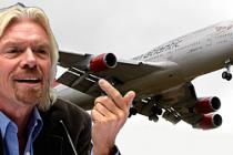 Sir Richard Branson İngiltere'yi terketti