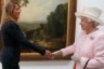 Tracy Emin, Kraliçe Elizabeth'ile tanıştı