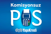 Yapı Kredi'den komisyonsuz POS