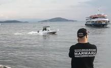 İstanbul'da helikopter denize düştü