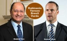 Brexit anlaşması iki istifa daha getirdi
