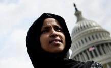 Trump'ın hedef gösterdiği Müslüman vekil Omar tehdit altında