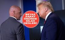 Trump Basın Toplantısından Apar Topar Çıkarıldı!