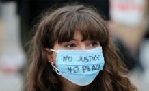 Fransa'nın Polis Şiddetine İngiltere'de Protesto